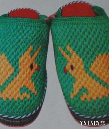 【图】分享大人毛线拖鞋的钩法图解 教你钩出属于自己
