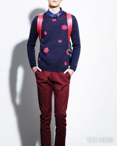 【图】酒红色裤子搭配什么上衣男生才最帅 4种