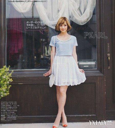 漂亮画裙子图片画衣服-身裙怎么搭配才好看 巧妙组合打造层次感