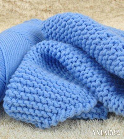 【图】牛奶棉围巾织法展示 手把手教你织出漂亮围巾