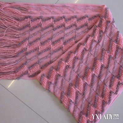 【图】双色围巾花样织法详解 两种方法教你织出漂亮围巾