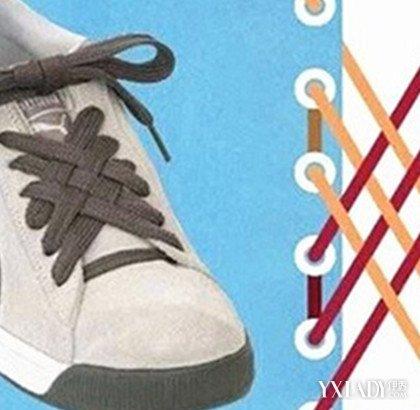【图】运动鞋女鞋带的系法