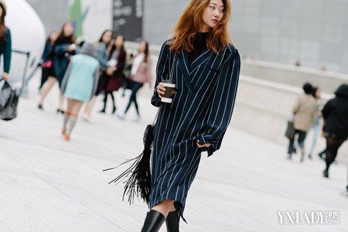 正在流行什么 看街拍就知道_时装周2016秋冬图片