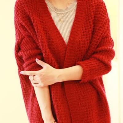 【图】开衫毛衣领子的织法展示 简单几步教你学织毛衣