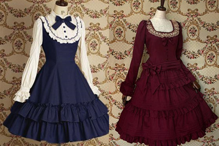 洛丽塔风格服装_洋装袖子有哪几种 洛丽塔风格你敢穿上街吗