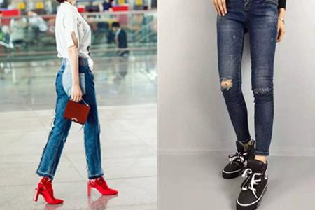 女九分裤配什么鞋_牛仔裤配什么鞋好看 教你穿成时尚潮女