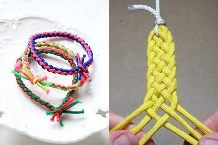 饰品 正文  一根绳编法 一根绳编法大全图解 简单的一根绳编法 中国结