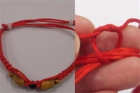 手链收尾打结方法图解 这些编织小技巧你要知道