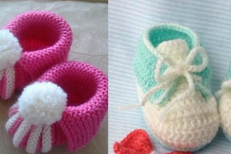 毛线编织婴儿鞋花样多 可爱舒适又保暖