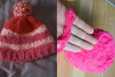 珊瑚绒帽子编织花样多 用爱呵护宝宝送温暖