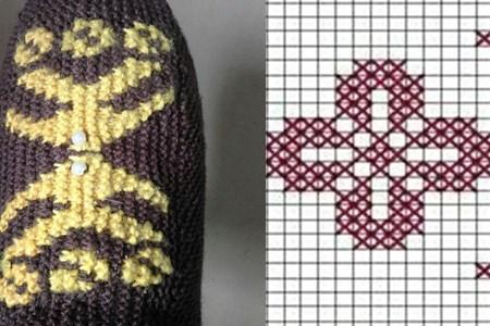 织毛线棉鞋花样图纸 有你们喜欢的吗