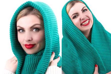 百搭冬季披肩围巾的各种围法图解 让你一看就学会