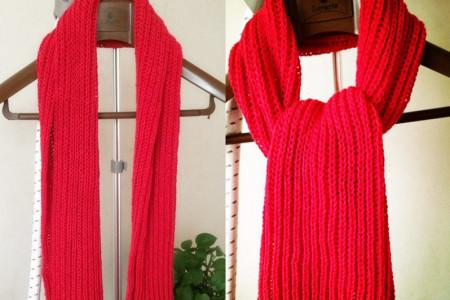 毛线编织 十分漂亮的手工编织围巾