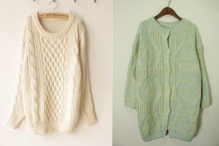 毛衣编织花样图解 用简单的方法织出温暖