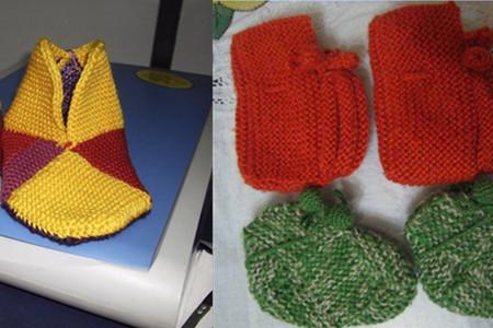 正文  袜套 袜套的织法图解 织袜套学手艺 再寒冷的冬天,我们有毛线