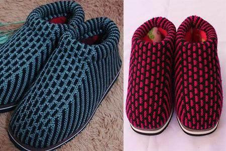 手工棉鞋怎么编织 详解制作步骤