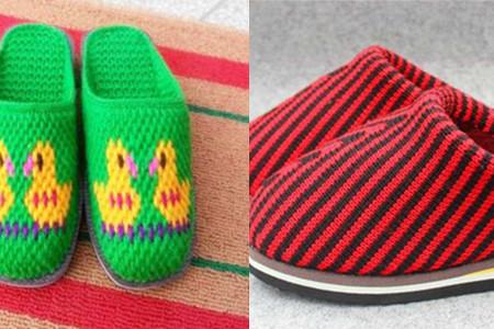 拖鞋的图案有很多,从纯色到波点,从简单的条纹到几何图形,从动物到