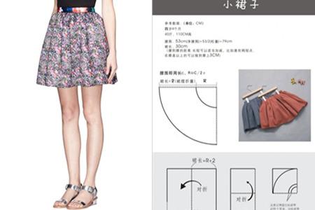 各种裙子做法图解 简单易懂适合新手