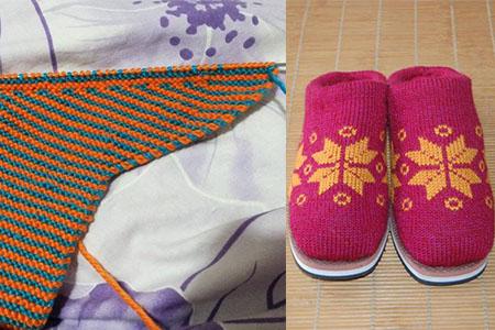 棉鞋的织法 教你简单一招温暖整个冬天