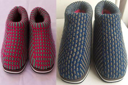 手工棉鞋的编织方法 超详细制作步骤
