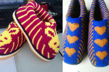 毛线棉鞋流行款式图 选择适合自己的一双