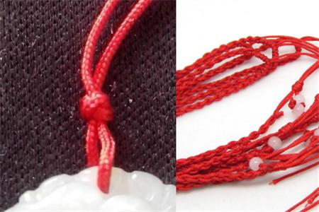 手工编织的项链其实是很好看的,戴在脖子上很显得与众不同,有时候甚至