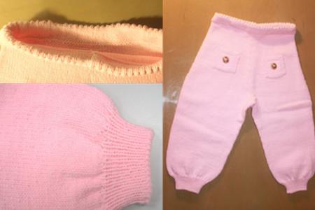 分享萝卜裤的编织方法 具体步骤看这里
