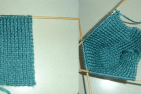 袜套的织法图解 如何钩织好看的毛线袜
