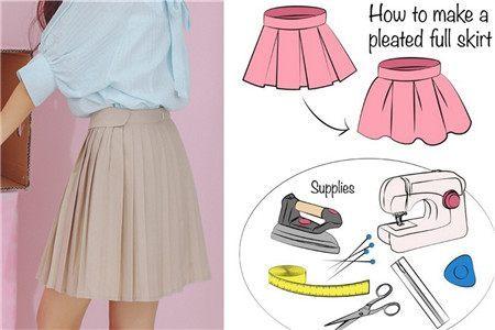 各种裙子做法图解 简单易学适合新手