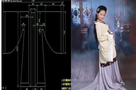 古装衣服自制图解 具体的过程看这里