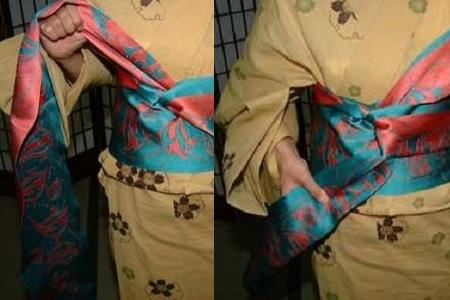 和服腰带系法图解 一定要知道的异国服装知识