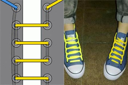 鞋带的系法有哪些 这样快速又便捷