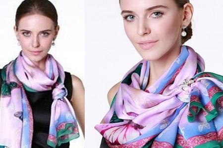 盘点长款丝巾的系法图解 这三种尽显优雅的气质