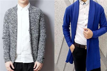 男士针织开衫外套内搭什么好看 让男人更加时尚的穿搭