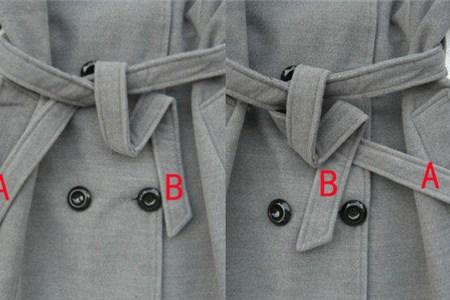 大衣蝴蝶结的系法图解 这样做让你秒变甜美少女