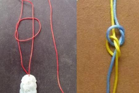常见项链绳结编法图解 心灵手巧的人都该看一下