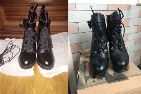 马丁靴6孔鞋带的系法 简单玩出时尚新花样