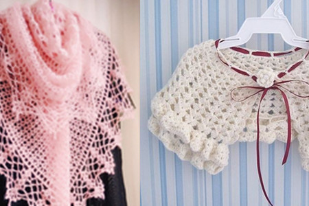 下面为您分享毛线披肩的编织方法大全.