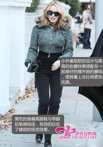 矮个女星穿衣经 150cm也能穿出好身材-修长城 手指修长 修长