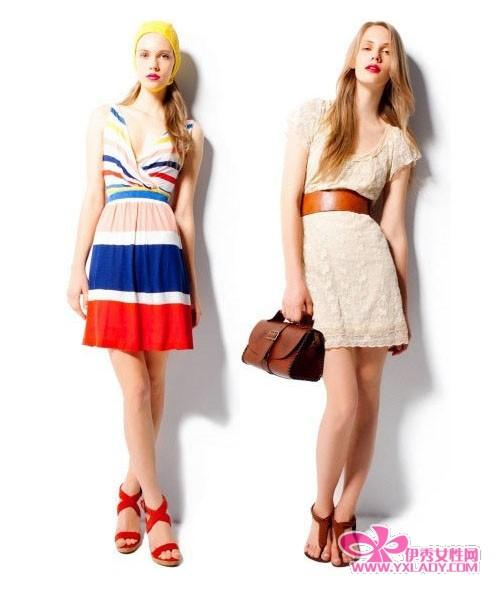 夏天服装搭配图片