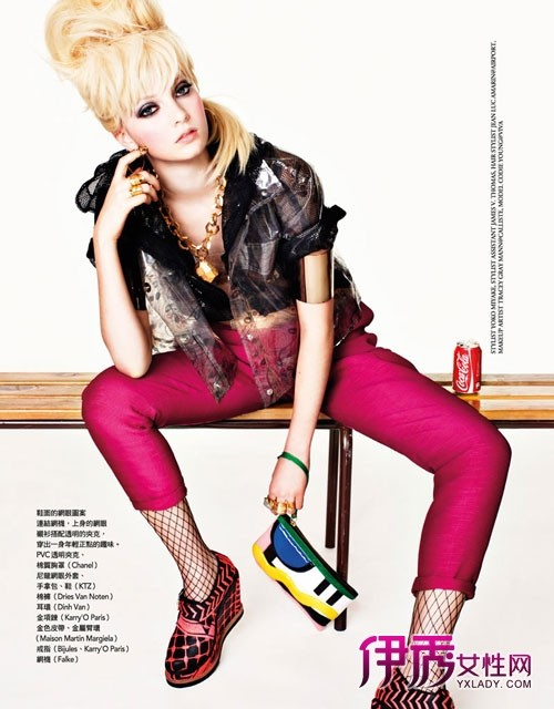 【潮流】致台湾式的玩乐青春 服饰大片玩怀旧