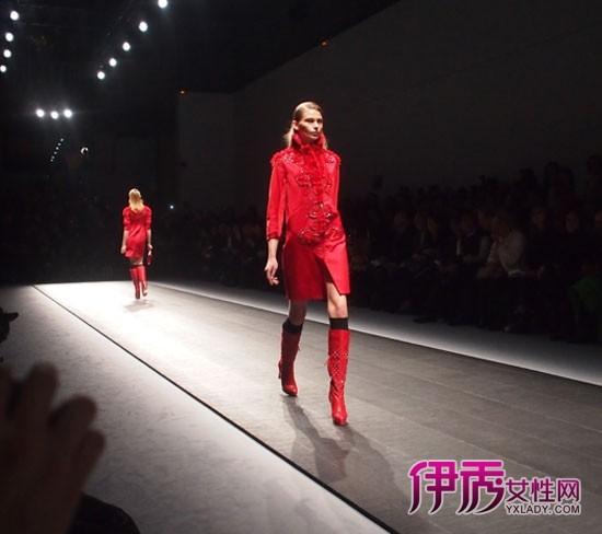 【图】夏姿·陈2012秋冬高级女装发布