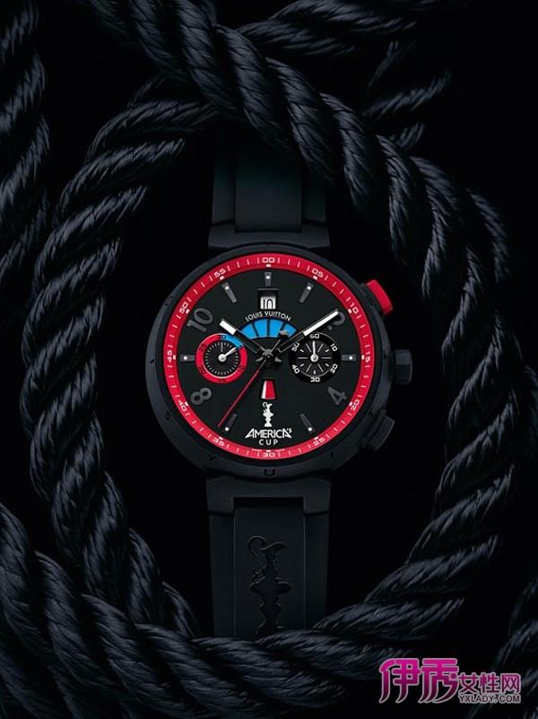 航海 路易威登 中国/航海精神路易威登2012年美洲杯帆船赛纪念腕表