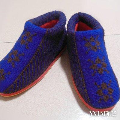 【图】双色毛线棉鞋的织法 6个步骤轻松编织毛线棉鞋