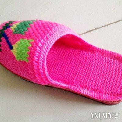 手工编织拖鞋的方法,毛线编织拖鞋图片大全