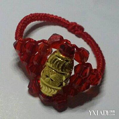 展示心形戒指编法图解 教你如何进行手工编织