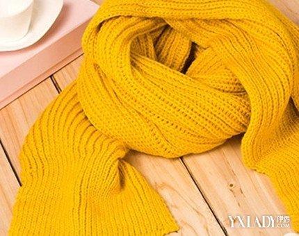 最简单的织围巾图解