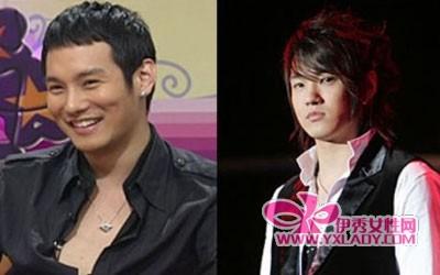 没整容的男明星 韩国没整容的男明星 男明星整容前后对比照