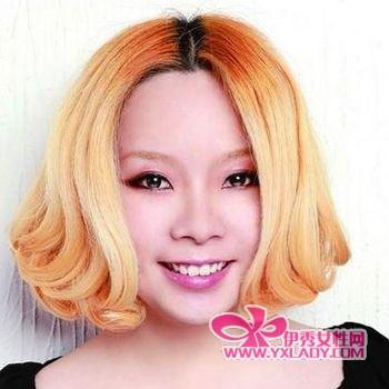 蘑菇头风行 2011女生发型 男士发型