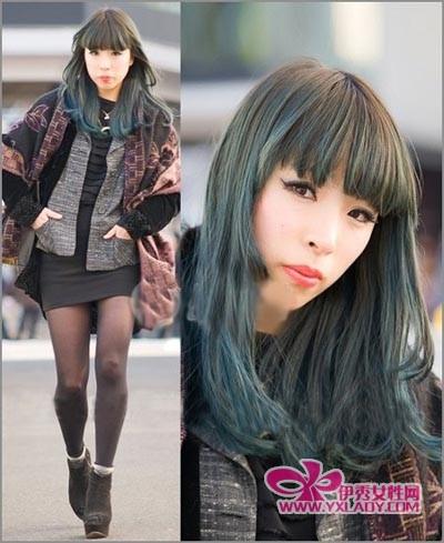 发型/渐变色彩个性的潮流